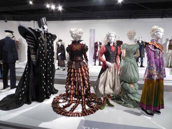 Alice Through the Looking Glass movie costume exhibit