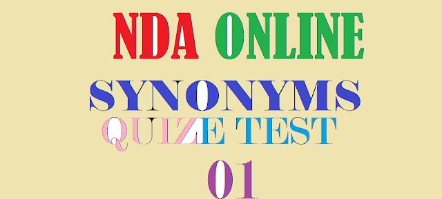 NDA Test 01 Synonyms