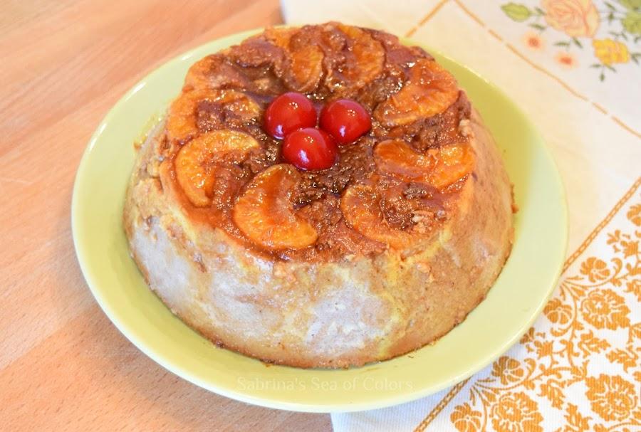 Budín de pan y mandarina
