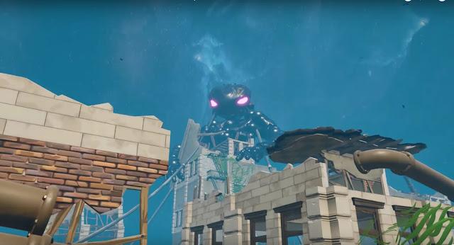 شاهد بالصور تصميم لعبة ضخمة جدا داخل Fortnite عن طريق طور التصميم و مغامرة رهيبة