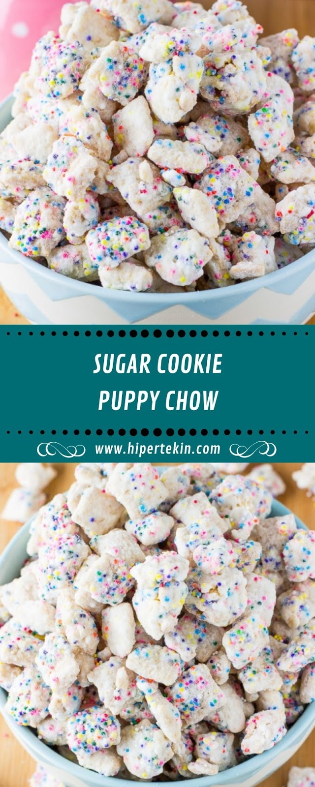 SUGAR COOKIE PUPPY CHOW