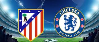 Liga Champions: Atletico Madrid vs Chelsea