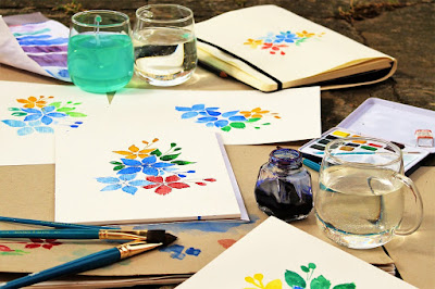 How to Host a Painting Party Over Video Chat - Social Isolation Ideas