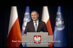 Inilah Pidato Presiden Polandia, Andrzej Duda di Debat Umum PBB ke 75