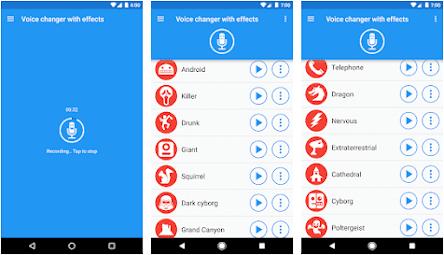 Aplikasi Efek Suara Vokal - Voice Changer with Effects