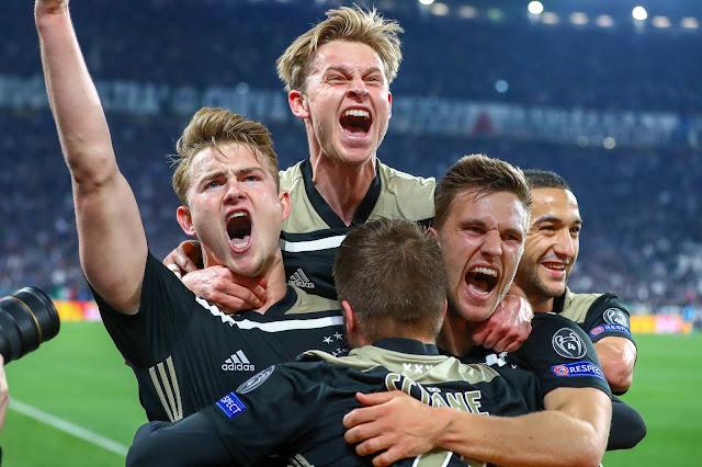 يوفنتوس يودّع دوري أبطال أوروبا بسقوط مفاجئ أمام إياكس أمستردام الهولندي