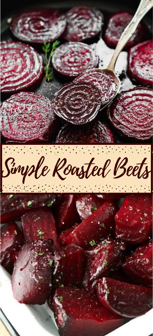 Simple Roasted Beets #vegan #vegetarian #soup #breakfast #lunch