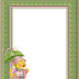 Frames with Tender Animals. Free Printables.