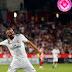 Benzema faz dois, decide e Real Madrid goleia o Girona fora de casa no Espanhol