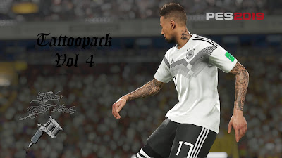PES 2019 Tattoopack v4 by Sho9_6