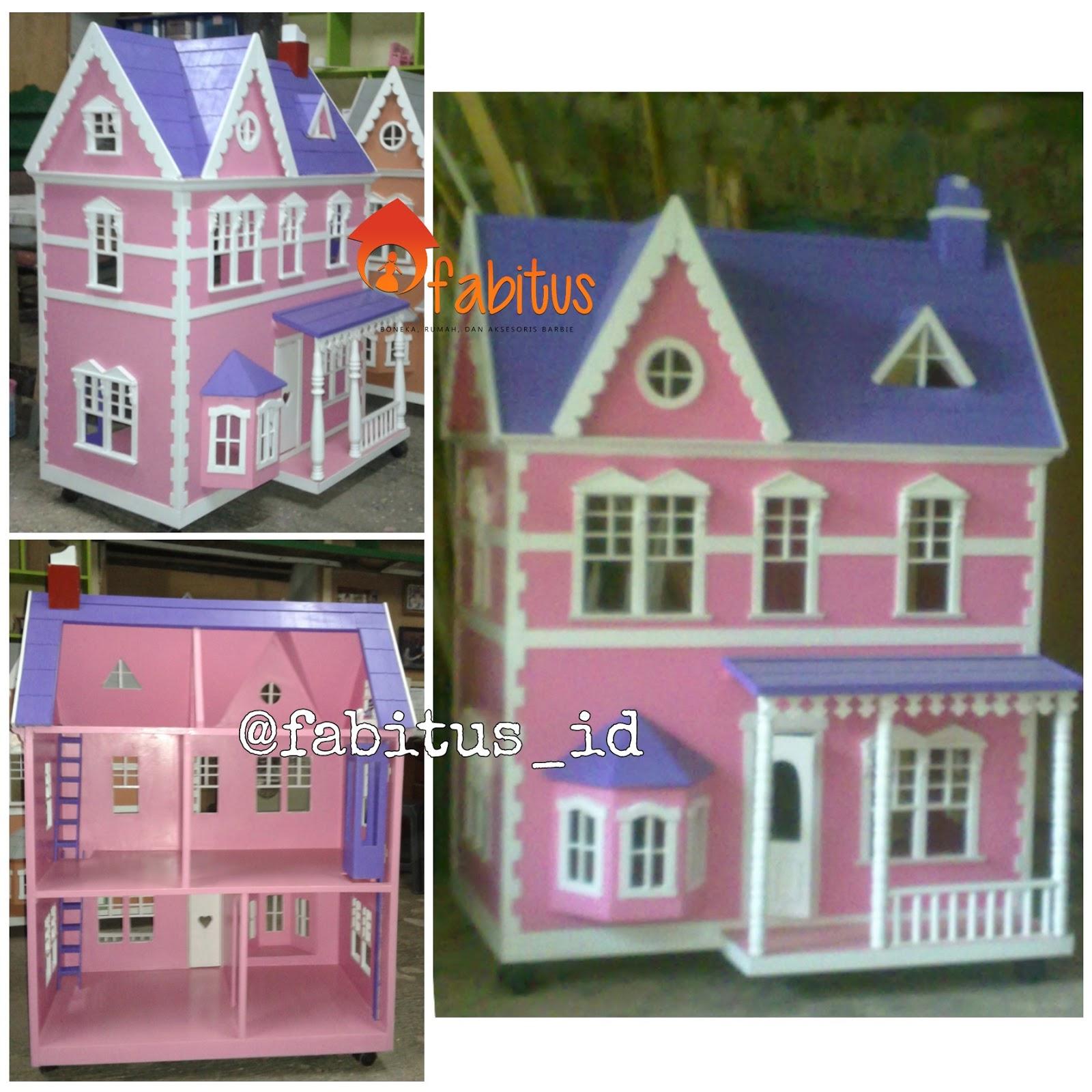 Rumah Boneka Barbie Houston 83106e8eaa