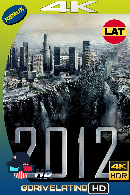2012 (2009) BDRemux 4K HDR Latino-Ingles MKV