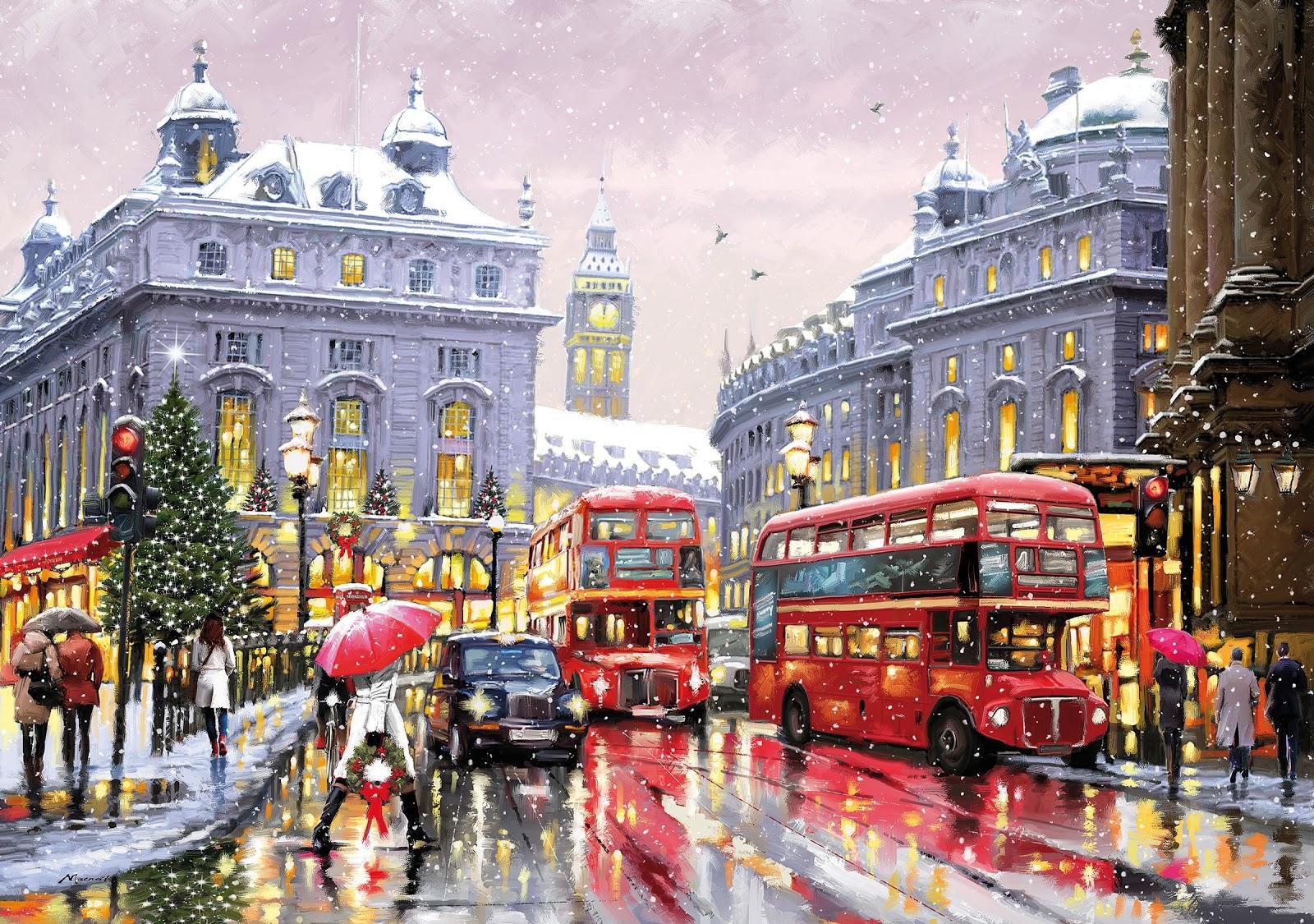 Richard Macneil London in Snow
