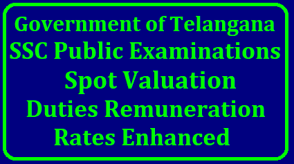 GO MS No 11 SSC Public Examinations Spot Valuation Duties Remuneration rates Enhanced School Education Department – SSC Public Examinations – Enhancement of rates of remuneration to the Personnel drafted for the work prior to and conduct of SSC Public Examinations, at the Examination Centres and Personnel drafted for the Coding Work and Spot Valuation of SSC Public Examinations – Orders – Issued./2018/04/go-ms-no-11-ssc-public-examinations-spot-valuation-duties-remuneration-rates-enhanced-download-copy.html