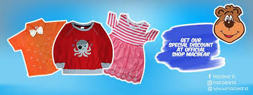 Baju Anak Perempuan dari MacBear
