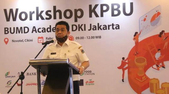 BUMD DKI Jakarta Diminta Lakukan Transformasi Model Bisnis di Tengah Pandemi