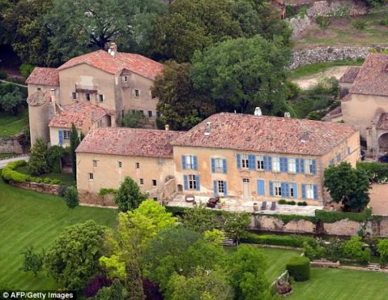 Brad Pitt and Angelina Jolie put their Chateau Miraval estate' and its 'prized vineyards' up for sale