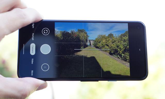 HDR camera pixel 4a