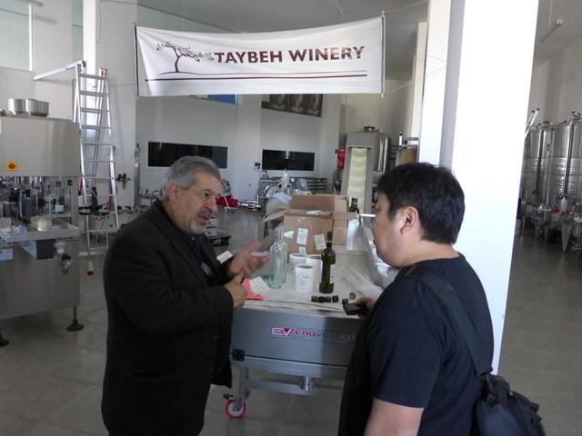 南部美人:久慈社長とともにタイベワイナリー&ビール(パレスチナ)を訪問しました。