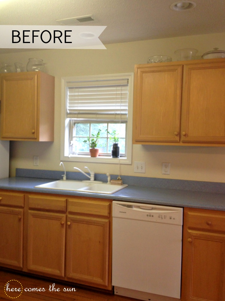 Painting Formica Kitchen Cabinets