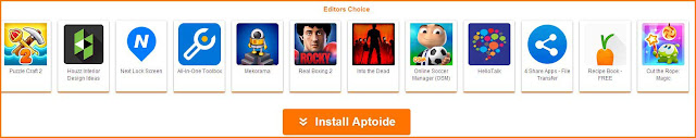 How to download Aptoide APK