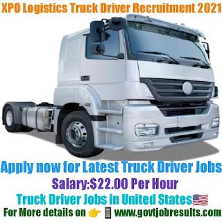 XPO Logistics Truck Driver Recruitment 2021-22
