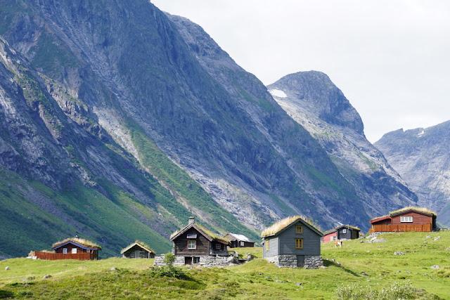 Turf houses - telhados de grama