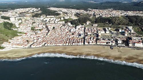Imagem aérea de Nazare - Portugal