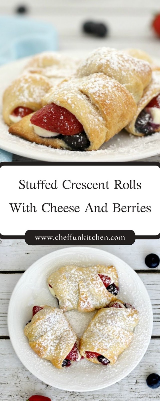 Stuffed Crescent Rolls With Cheese And Berries
