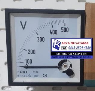 Jual Volt Panel Meter Analog 0 - 500V di Jombang