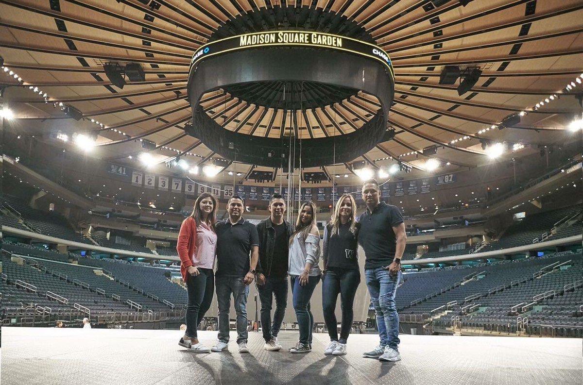 Miel San Marcos Grabar Disco En Vivo Desde El Auditorio Madison Square Garden Mundo De Cristo