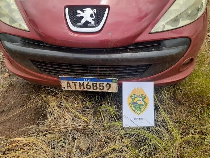 Carro de laranjeirense que estava desaparecido foi encontrado em Candói