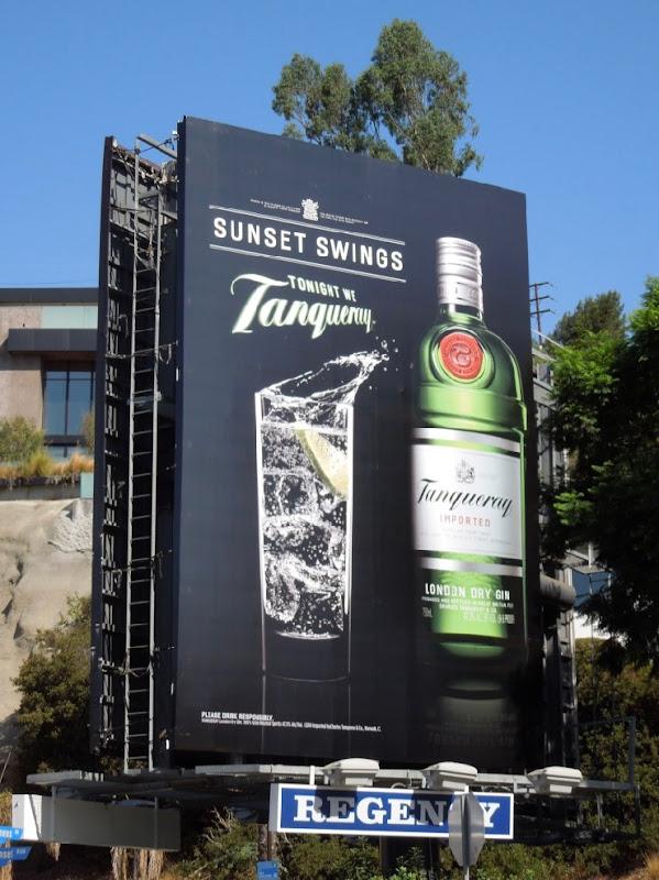 Tanqueray Gin Summer 2014 billboard