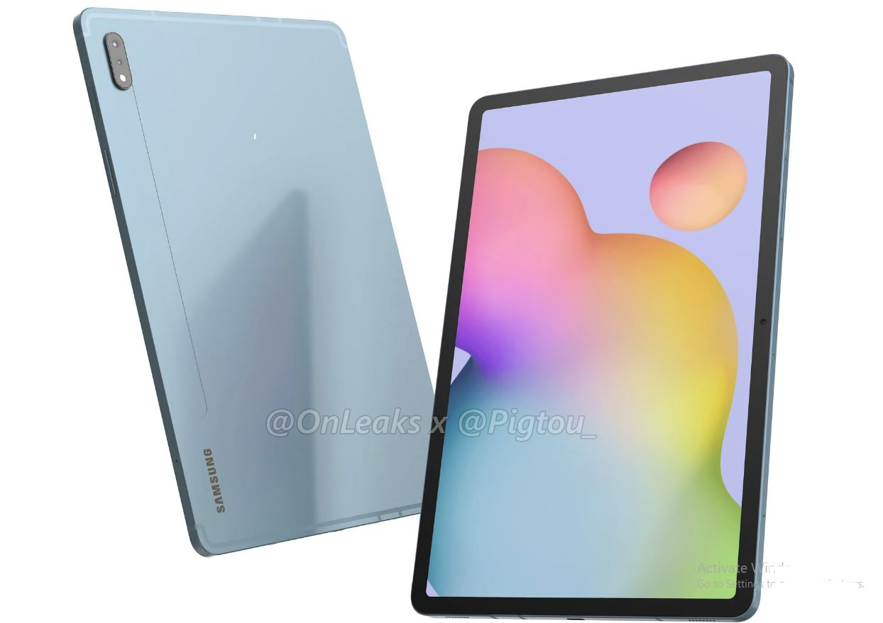 Samsung Galaxy Tab S7 leaked images confirm the dimensions and design