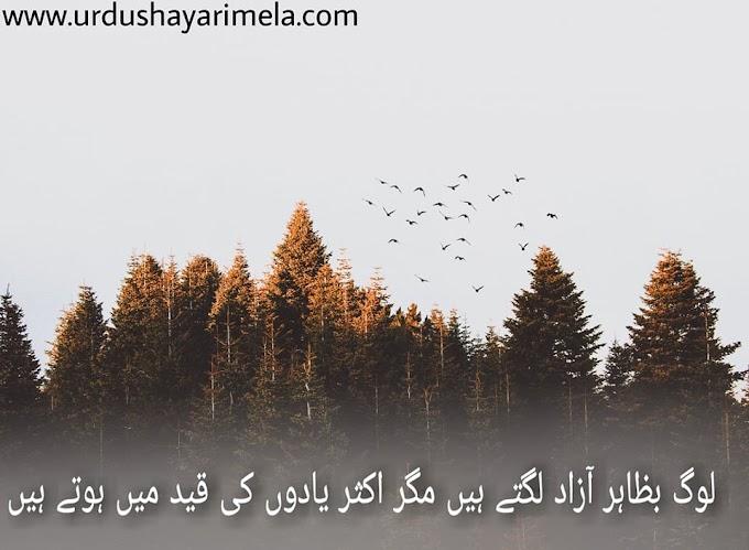 Sad Poetry | Sad Poetry In Urdu | Log Bazahir Azad Lagte Hai