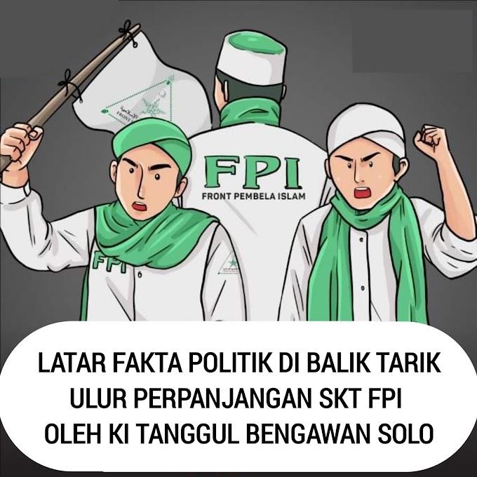 Latar Fakta Politik di balik Tarik Ulur Perpanjangan SKT FPI