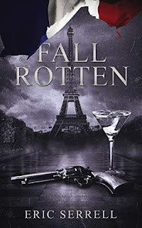 Fall Rotten, a historical fiction crime comedy free book promotion by Eric Serrell