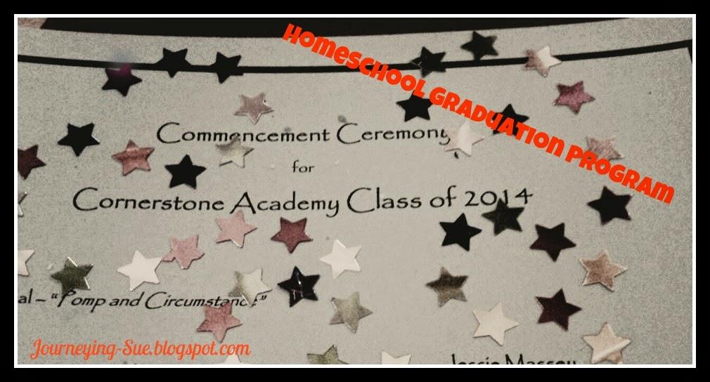 Homeschool Graduation Program Template