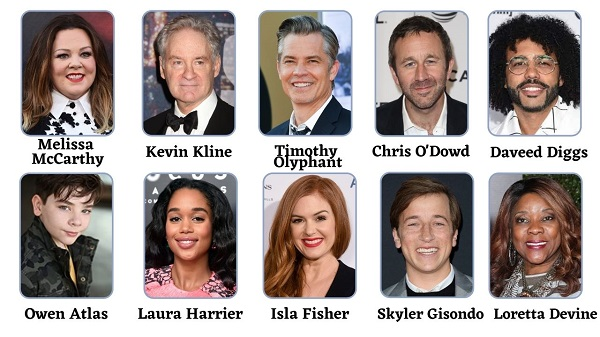 The Starling Cast 2021