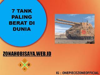 Tank Paling Berat Di Dunia