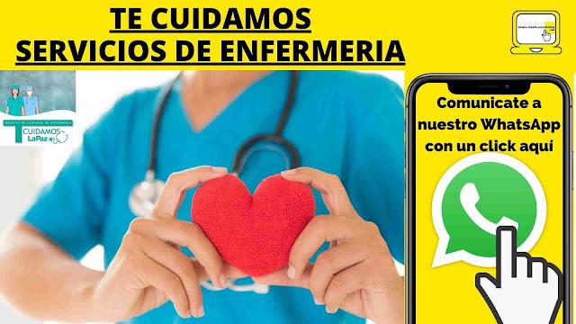 SERVICIO DE ENFERMERIA A DOMICILIO LA PAZ BOLIVIA