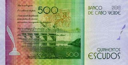 Nota de 500 escudos cabo-verdianos