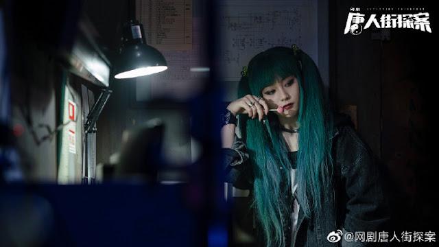 detective chinatown web drama chen yusi