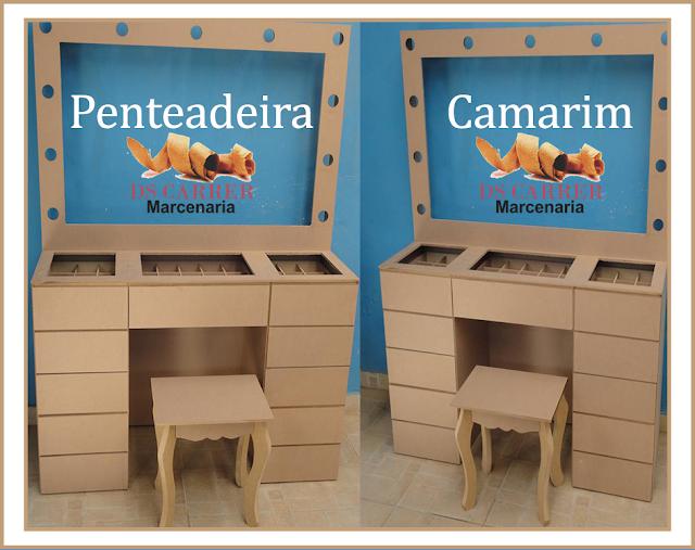 Penteadeira Camarim por 600 reais DS Carrer