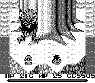 Mystic Quest - Final boss Dark Lord