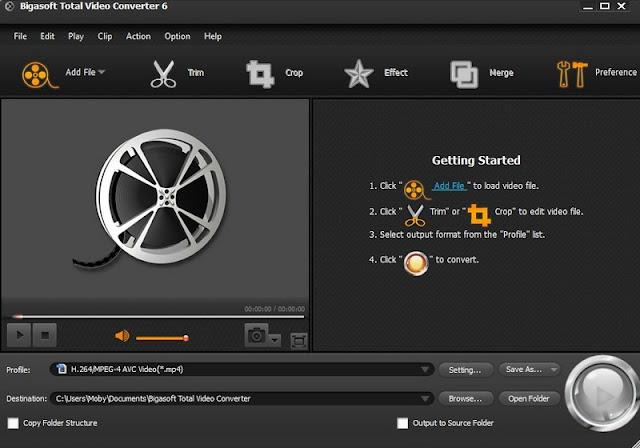 bigasoft total video converter licnese code