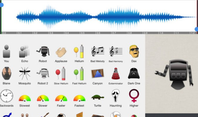 Aplikasi Pengubah Suara Terbaik tuk iOS - Voice Changer Plus