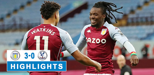 Aston Villa vs Crystal Palace – Highlights