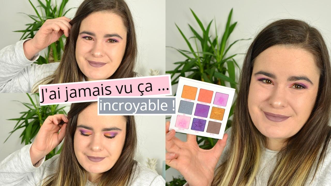 je teste la marque de maquillage Jeffree Star Cosmetics, j'ai jamais vu ça, incroyable
