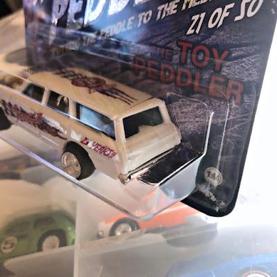 The Toy Peddler 23 Year Anniversary Custom '64 Wagon Gasser nova ttp hot wheels